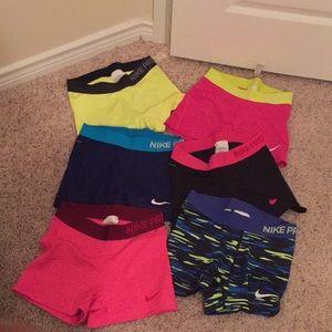Nike Pro shorts size small